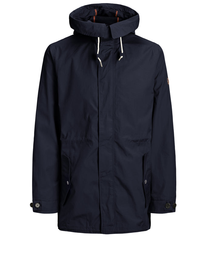 JOURNEY PARKA Navy Blazer