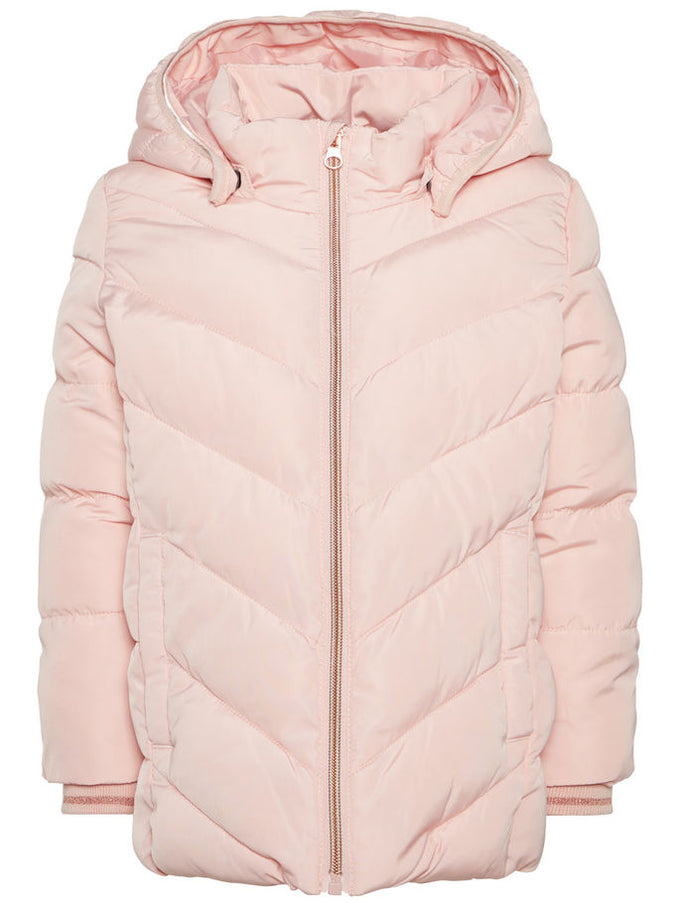 WATER-REPELLENT PUFFER JACKET Strawberry Cream
