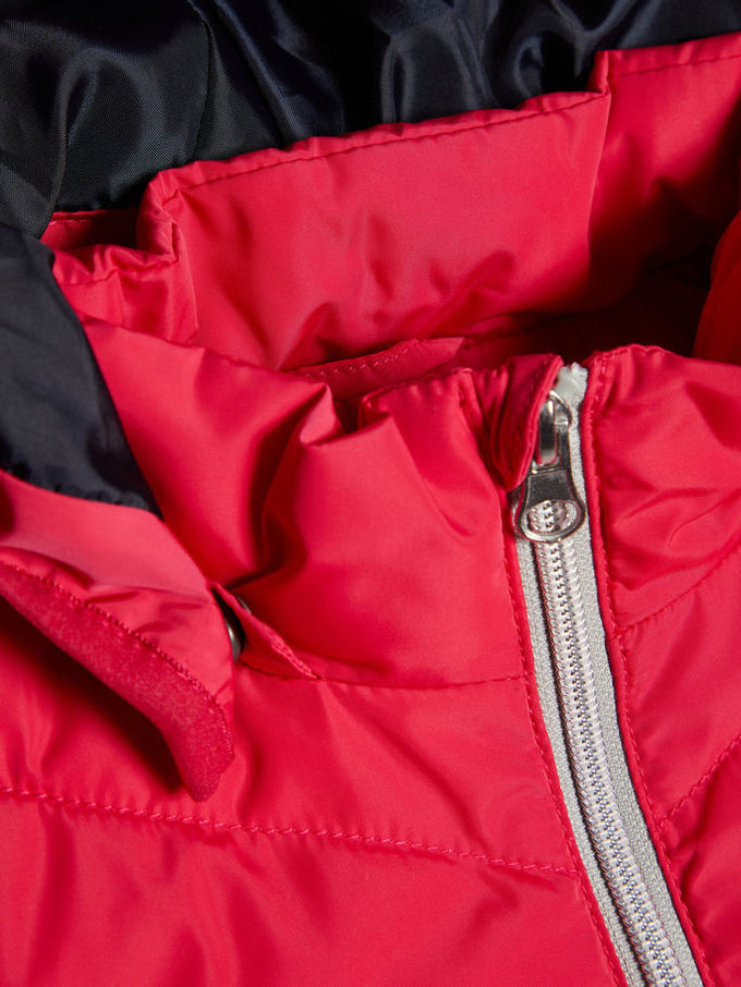 WATER-REPELLENT PUFFER JACKET Virtual Pink