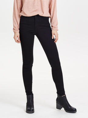 onlROYAL BLACK HIGH WAIST SKINNY FITJEANS