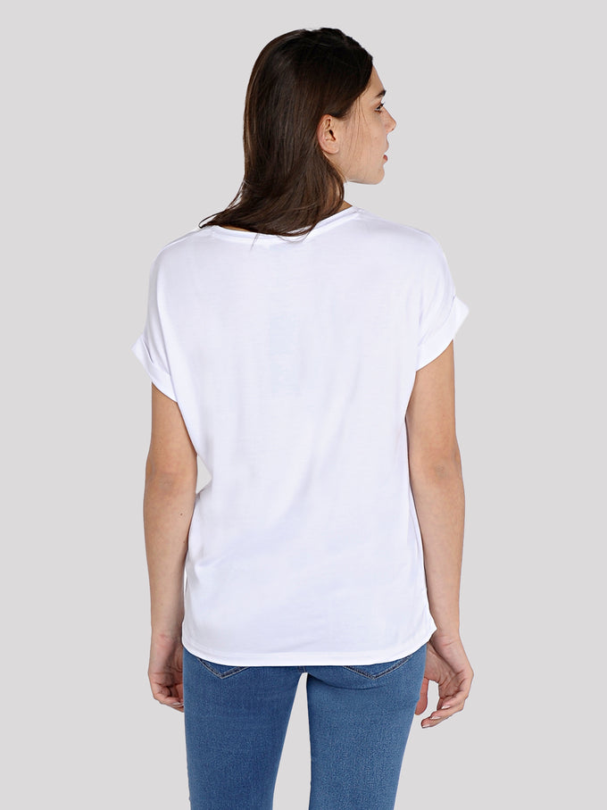 ESSENTIAL DOLMAN SLEEVE T-SHIRT White