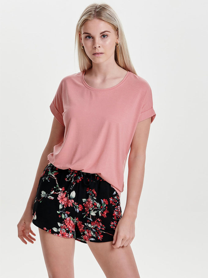 ESSENTIAL DOLMAN SLEEVE T-SHIRT Blush