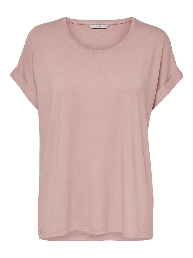 ESSENTIAL DOLMAN SLEEVE T-SHIRT Pale Mauve