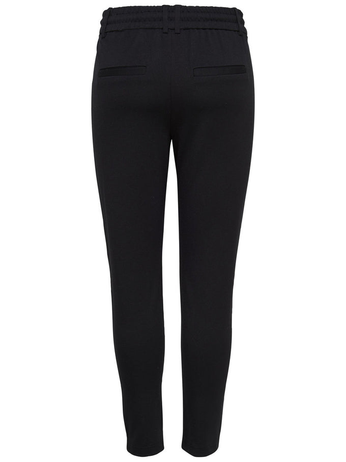 SLIM JERSEY PANTS Black