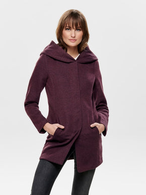 Sedona hooded coat