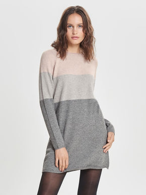 LILLIO LONG SLEEVE KNIT DRESS
