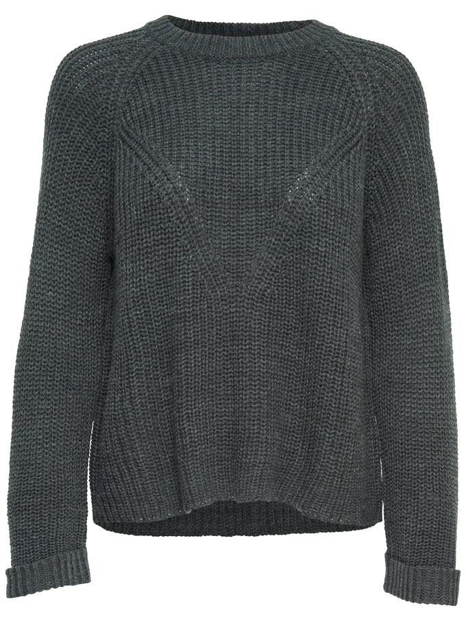 CLASSIC GREY SWEATER Dark Grey Melange