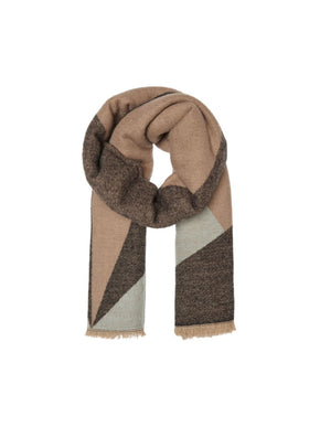 SUPER SOFT COLORBLOCK SCARF