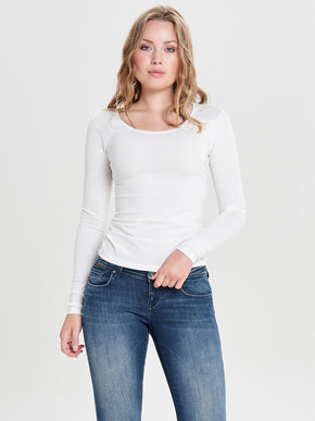 LONG SLEEVE BASIC T-SHIRT