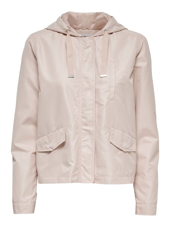 LIGHT COLOURFUL PARKA Rose Smoke
