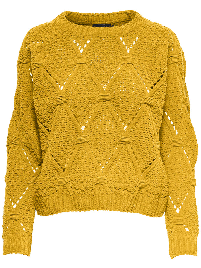 COLOURFUL CHENILLE SWEATER Solar Power