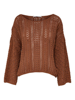LOOSE CHENILLE SWEATER