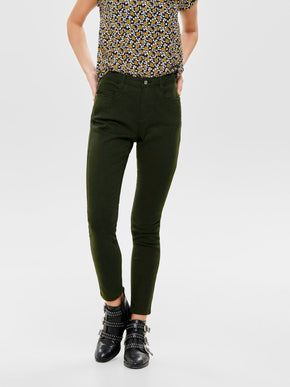 FINAL SALE – STRETCH ANKLE PANTS