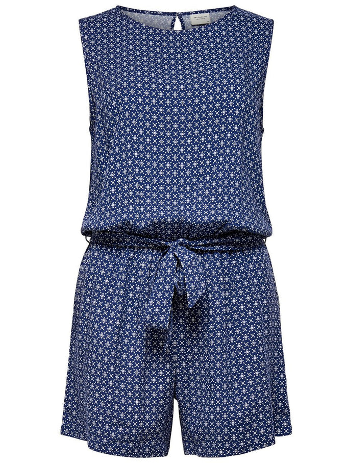 FLUID ROMPER Blue Depths