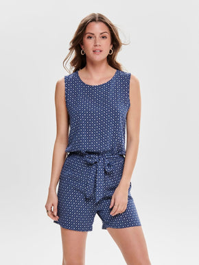 FINAL SALE – FLUID ROMPER