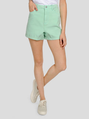 COLOURFUL HIGH WAIST MOM SHORTS