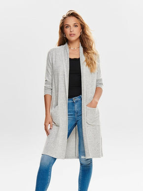 BRUSHED CARDIGAN