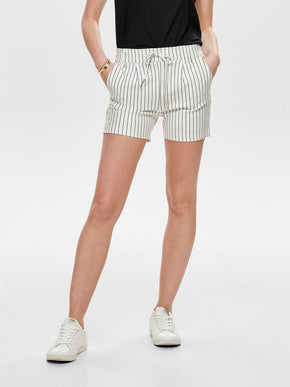 POPTRASH STRIPED JERSEY SHORTS