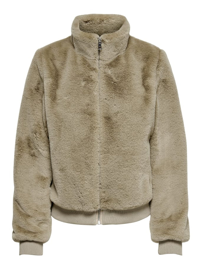SHORT FAUX-FUR JACKET Nomad