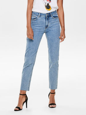 onlEMILY HIGH WAIST MOM JEANS