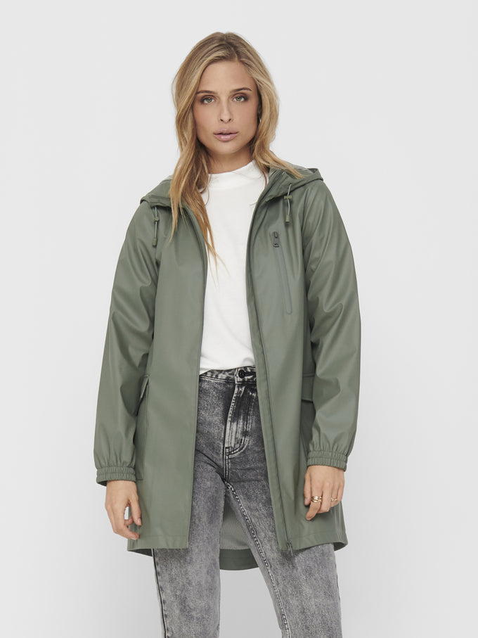 EMMA RAINCOAT Agave Green