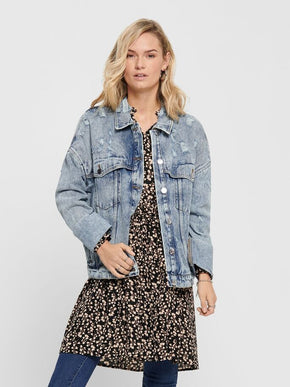 OVERSIZED DENIM AMY JACKET