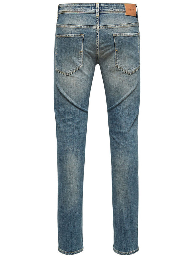 WORN-IN STYLE SLIM FIT JEANS Light Blue Denim