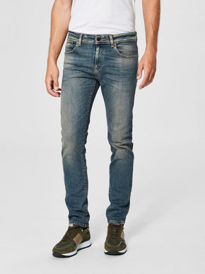 WORN-IN STYLE SLIM FIT JEANS