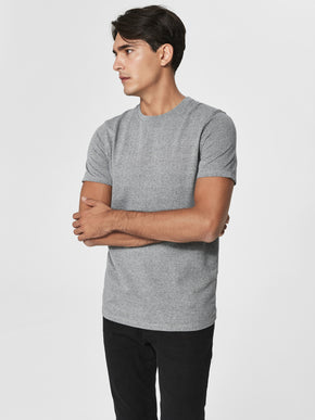 JACQUARD PATTERNED T-SHIRT