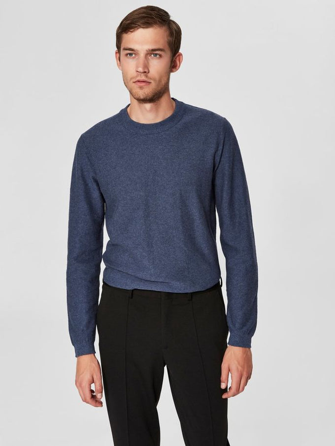 CASHMERE SWEATER Dark Blue