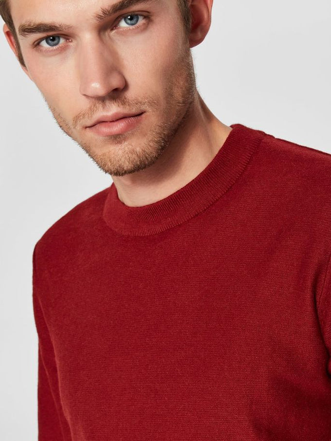 CASHMERE SWEATER True Red