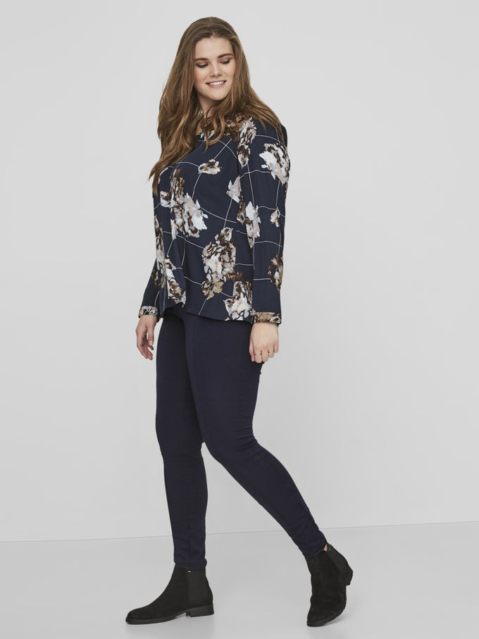 STRETCH NAVY LEGGING Navy Blazer