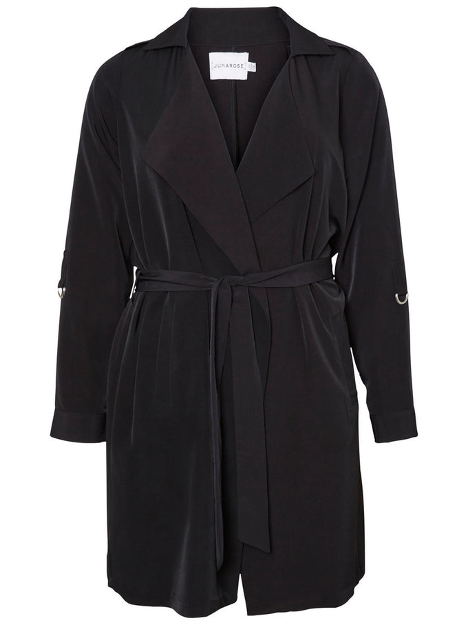 UNLINED TRENCH COAT Black Beauty