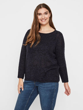 BILLIE LONG SLEEVE KNIT SWEATER