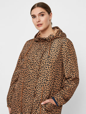 LEOPARD LIGHT PARKA