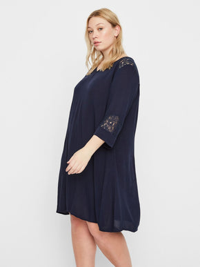 LOOSE HIGH-LOW DRESS