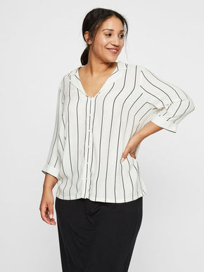 LOOSE STRIPED SHIRT