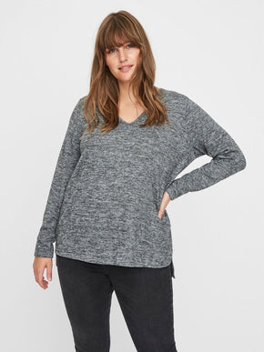 ASRA LONG SLEEVE KNIT SWEATER