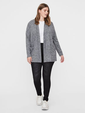 ASRA LONG SLEEVE KNIT CARDIGAN