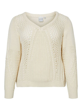 ASIKA LONG SLEEVE KNIT SWEATER