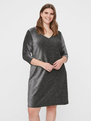 SAKINA 3/4 SLEEVE ABOVE KNEE DRESS