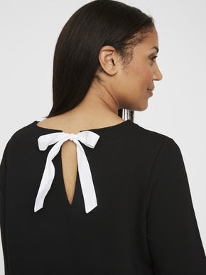 BACK BOW SHIRT BLOUSE