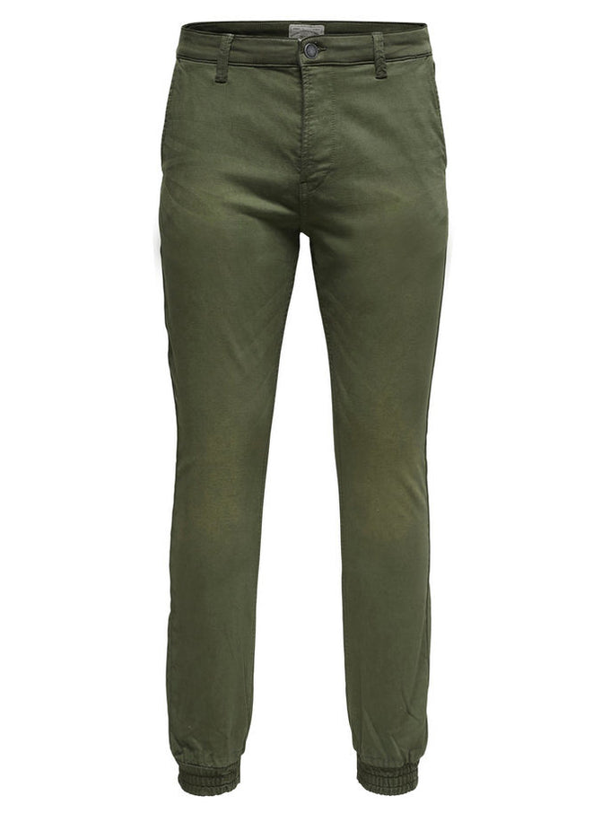 JOGGER STYLE PANTS Forest Night