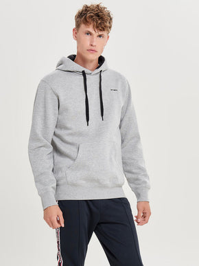 LOGO HOODIE WITH BRUSHED INSIDE