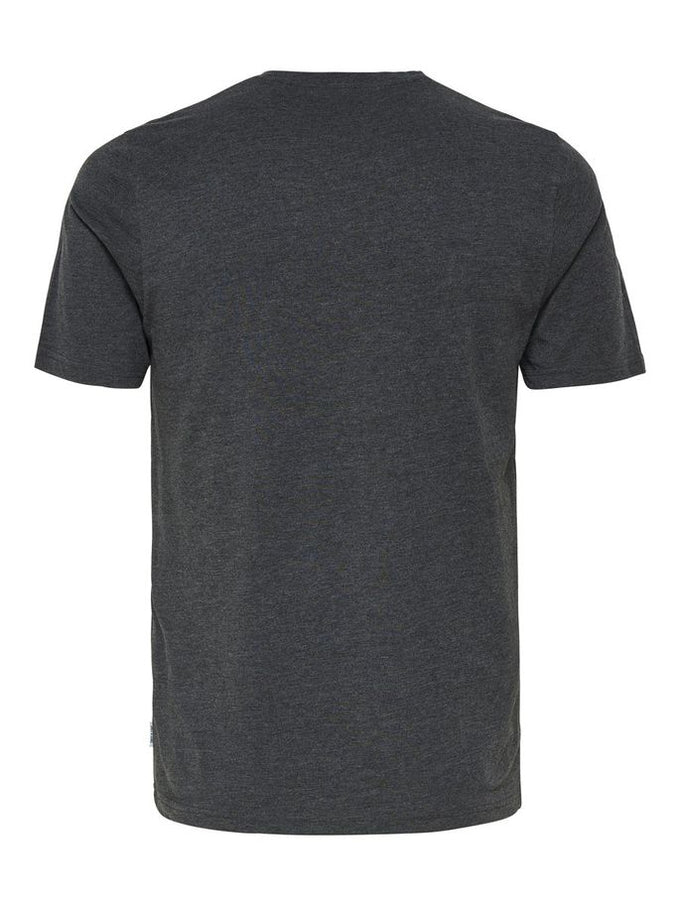 COLOURBLOCK STYLE T-SHIRT Dark Grey Melange