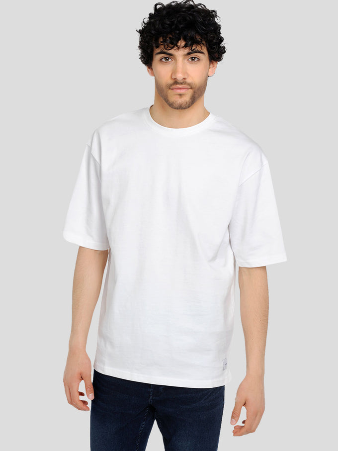FINAL SALE – HEAVY COTTON OVERSIZE T-SHIRT White