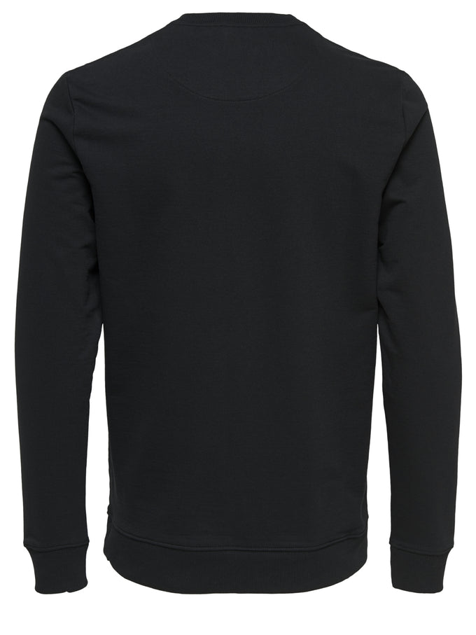 BASIC SOFT CREWNECK Black