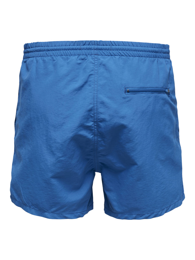 BASIC LOGO SWIM SHORTS Imperial Blue