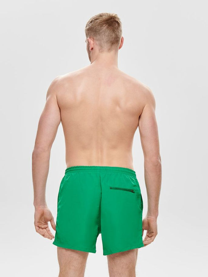 BASIC LOGO SWIM SHORTS Bosphorus