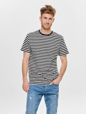 JAMIE STRIPED T-SHIRT